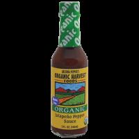 Organic Harvest Gluten Free Jalapeno Pepper Sauce