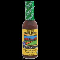 Organic Harvest Gluten Free Chipotle Habanero Pepper Sauce