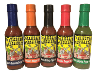 Gunslinger 5-Pack Pepper Sauces - 5oz. bottles
