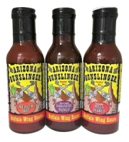 Buffalo Wing Sauce Variety Pack - 3 Bottles