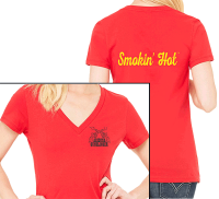 Ladies Smokin' Hot T-Shirt - Other Colors Available
