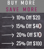 BUY MORE SAVE MORE - ENDS 9/28/20