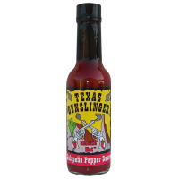 Texas Gunslinger Red Jalapeno Pepper Sauce