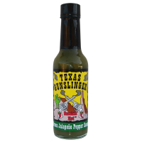 Texas Gunslinger Green Jalapeno Pepper Sauce